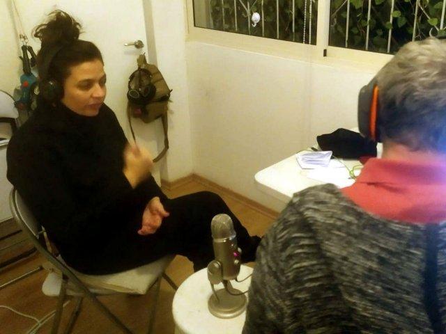 Shira Geffen at Radio Stalin